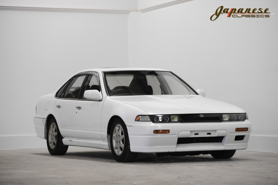 1989 A31 Nissan Cefiro Turbo 5-Speed - Japanese Clics (Old)